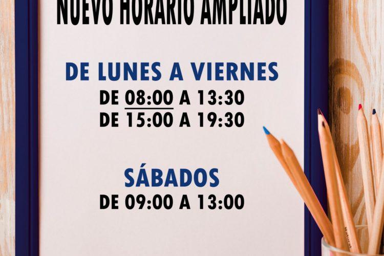 Nuevo horario delegación Santiago