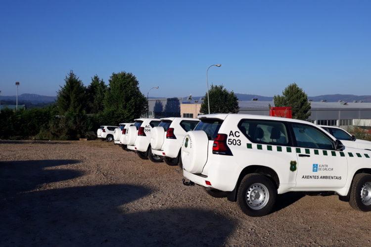vehículos agentes y vigilantes ambientales transformación GSI